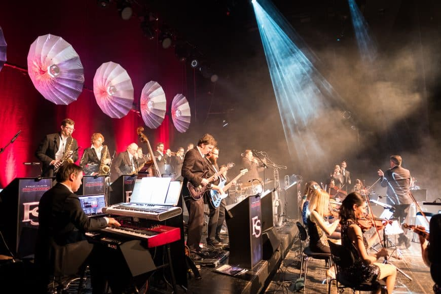 Fink & Steinbach Bigband - The Revolution of Bigband. Popmusik. Konzert, Party. Das Erlebnis für Events und Firmenfeiern.