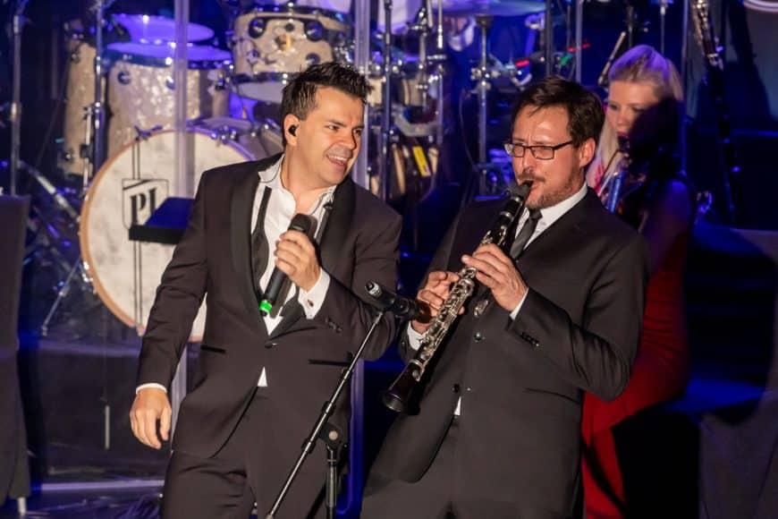 Manuel Wolf, Sandro Luzzu und die Bigband Steinbach