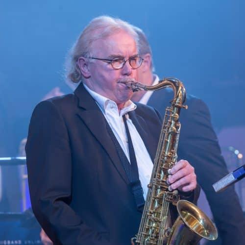 Peter Kral, der Gentleman am Saxophon
