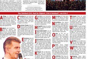 Max Steinbach im Interview mit HALLO-München