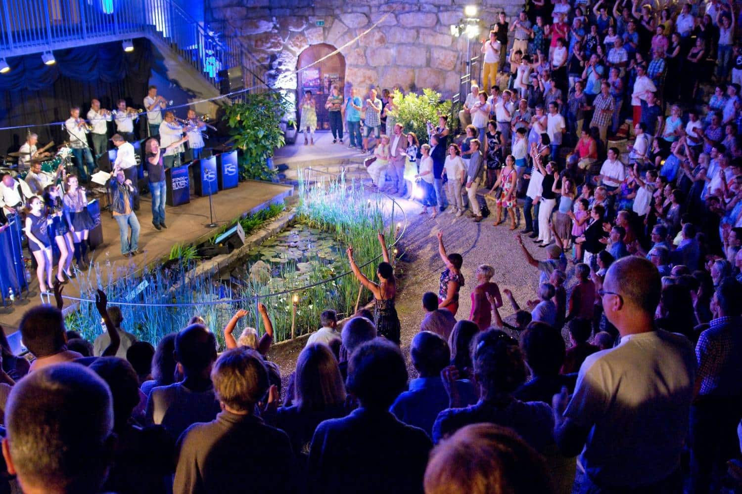 Open Air-Konzert im Amphitheater