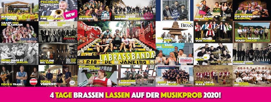 MUSIKPROB' – Das besondere Brass-Festival