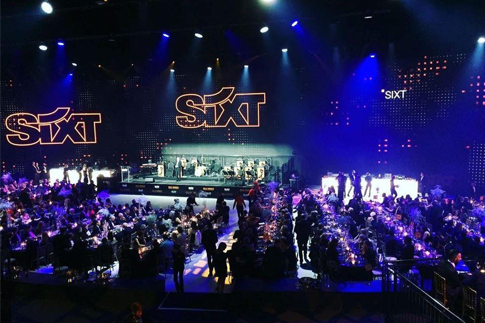 Die STEINBACH Band ist gern gesehener Gast bei der Firmenfeier der Fa. Sixt.