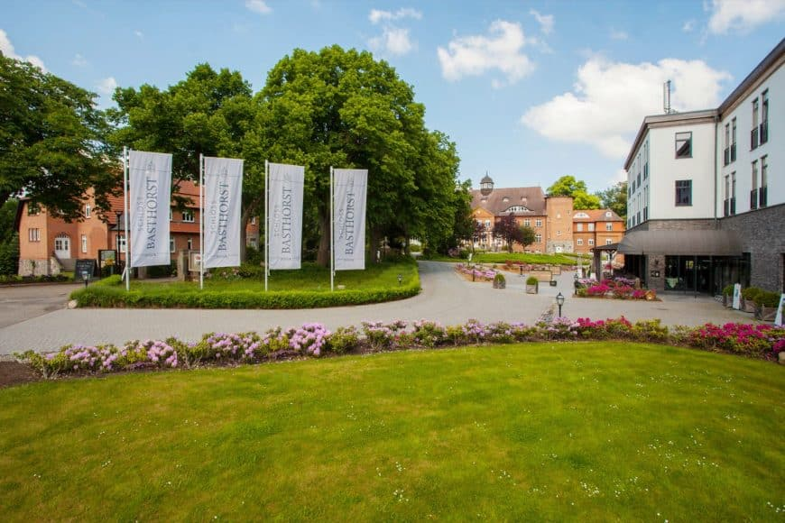 Die Hotelanlage Schloss Basthorst
